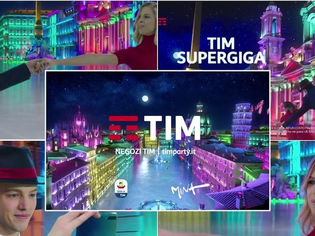 Le modelle della pubblicità: Carolina Kostner nello spot TIM Natale 2018 con JSM