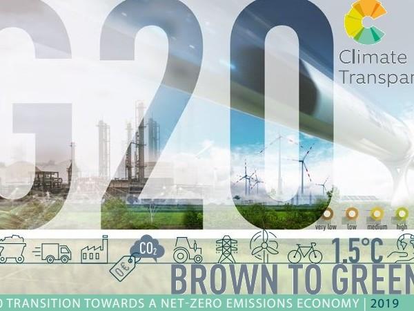 I Paesi del G20 non sono sulla strada giusta per la transizione alla green economy