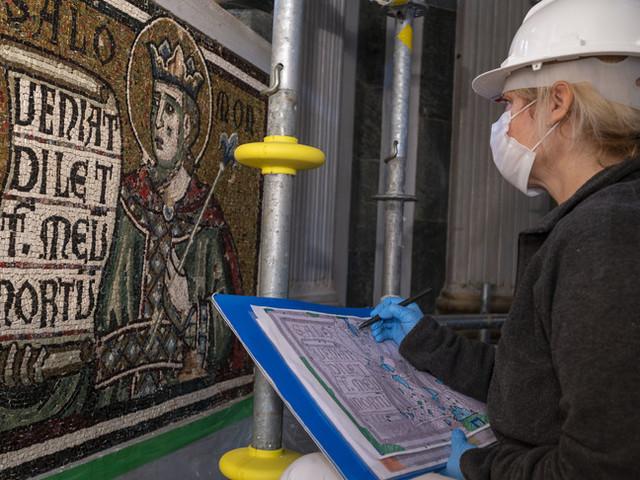 I mosaici trecenteschi del Battistero di Firenze dopo il restauro
