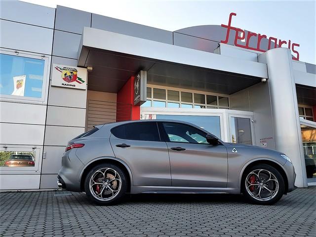 Alfa Romeo: la Stelvio N-Ring Ferraris arriva a 600 CV