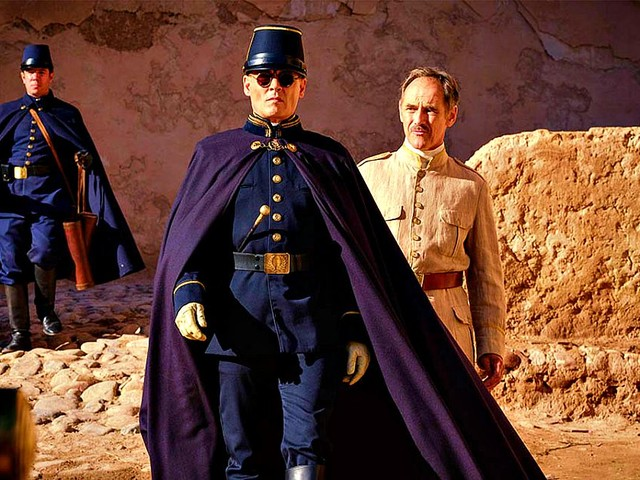 Mostra del Cinema di Venezia, Waiting for the barbarians: come annullare due attori Johnny Depp e Mark Rylance (già premio Oscar)