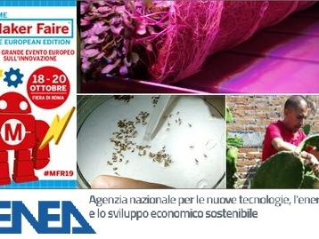 "Le microverdure ""spaziali"" e il packaging 100% green di Enea al Maker Faire 2019"