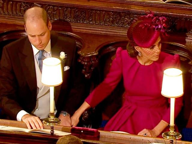 Effusioni in pubblico con William: Kate Middleton 'copia' Meghan Markle