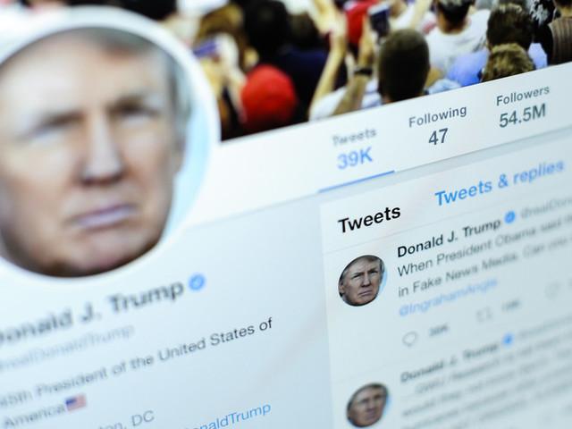Twitter 'banna' Trumpma non i regimi