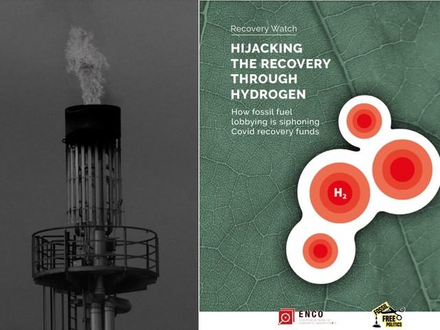 Le Ong: l'industria fossile ha cercato di mettere le mani sui soldi del Recovery fund con false soluzioni come l'idrogeno blu
