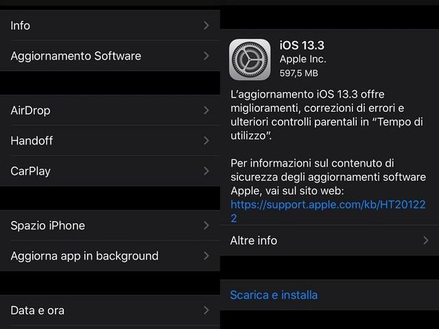 iOS 13.3: Tutte le novità e migliorie introdotte