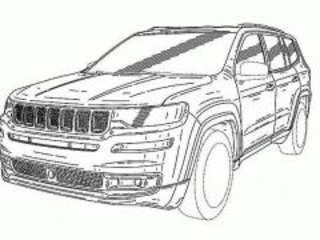 Jeep Grand Commander: i disegni brevettati in Cina