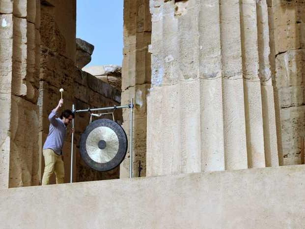 Festa della Musica, a Selinunte suono Gong inaugura ripartenza