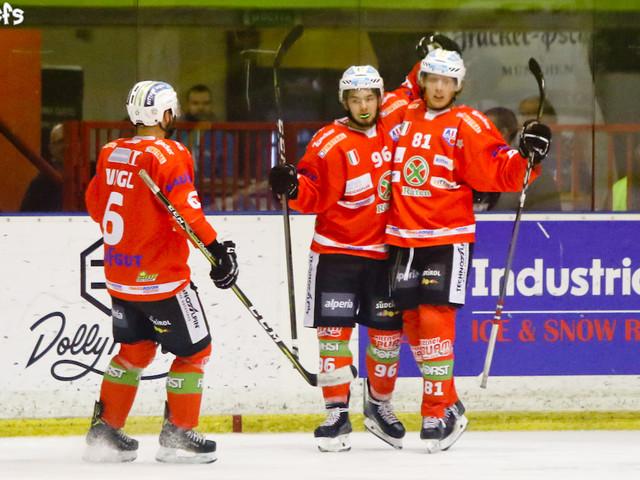 Hockey ghiaccio, Alps League 2019: Ritten pareggia la serie con Olimpija, Valpusteria va sul 2-0 con Cortina, Asiago sotto 2-0 con lo Jesenice