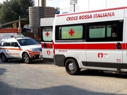 Frana terreno in un cantiere edile Bergamo, ferito operaio 23enne