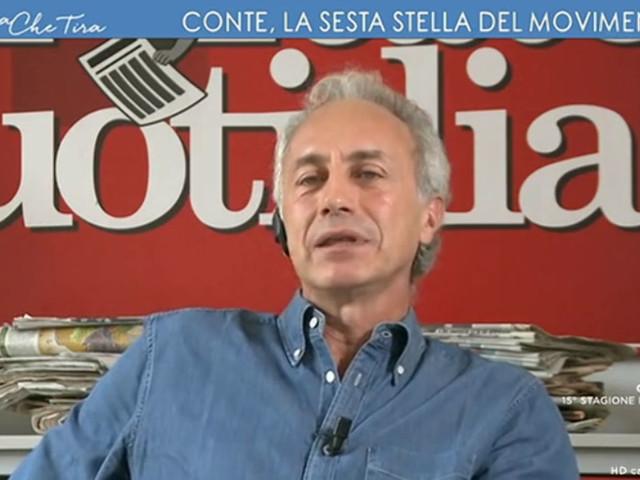 """Travaglio: """"Grillo ha invitato il M5s a cambiare perché sta cambiando tutto. Il Pd di Zingaretti non è quello di Renzi"""""""