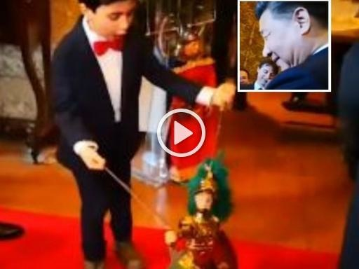 Palermo, il piccolo puparo incanta il presidente Xi Jinping che lo invita in Cina