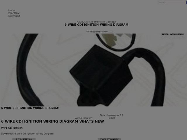 Wire Cdi Ignition Wiring Diagram
