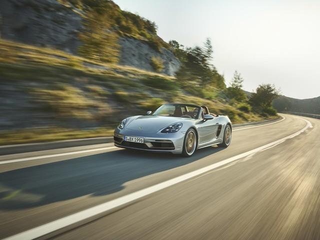 Porsche Boxster 25 anni: una serie speciale celebrativa in edizione limitata