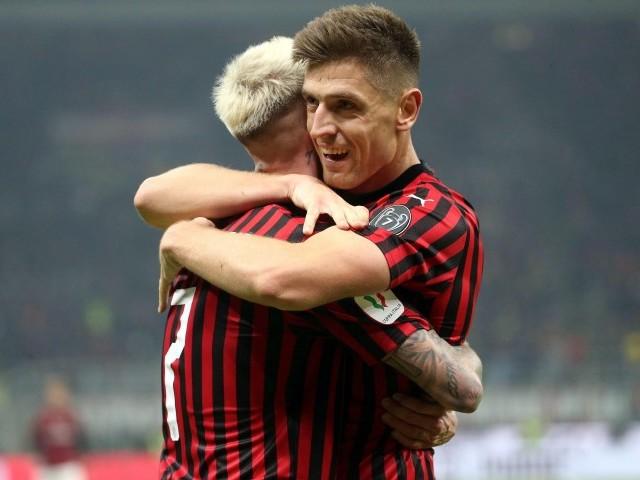 """Piatek torna """"pistolero"""" e stende la Spal in Coppa Italia, il Milan va senza Ibra"""