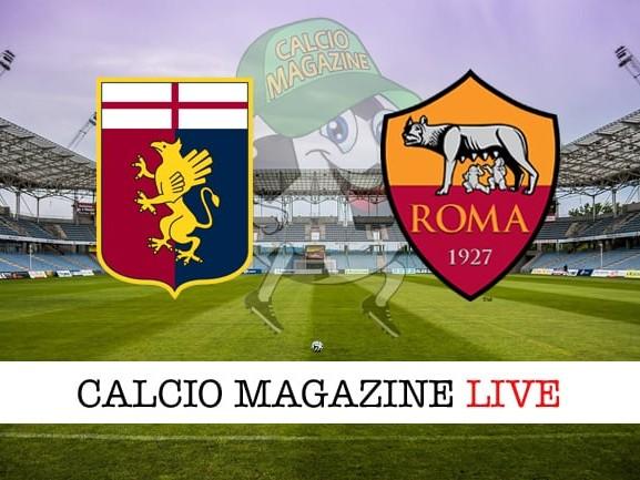 Genoa-Roma risultato e tabellino in tempo reale, le ultime di formazione
