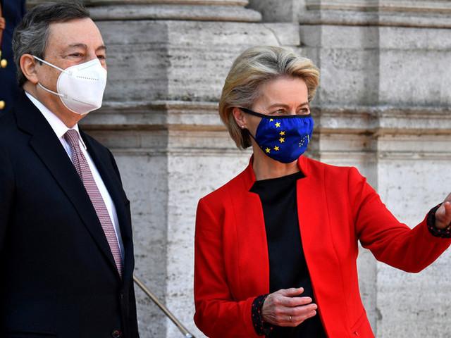 La Ue eroga un pre-finanziamento di 24,9 miliardi di euro all'Italia