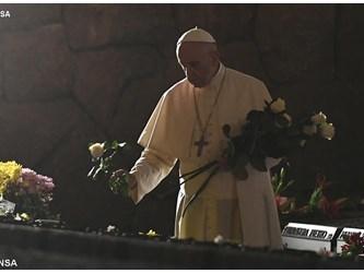Francesco alle Fosse Ardeatine: per il Signore, nessuno è ignoto