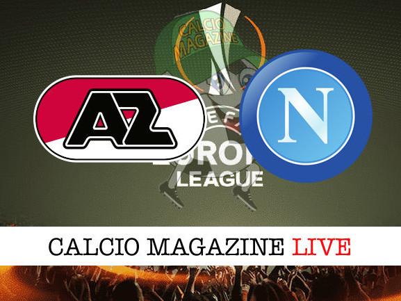 AZ Alkmaar – Napoli: cronaca diretta live, risultato in tempo reale