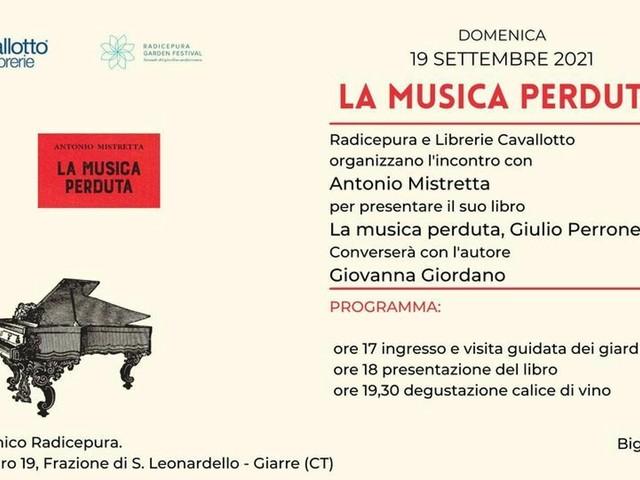 Presentazione del libro 'La musica perduta'