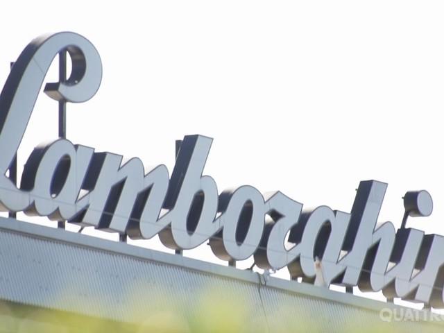 Lamborghini - La fabbrica di SantAgata come non si era mai vista prima VIDEO