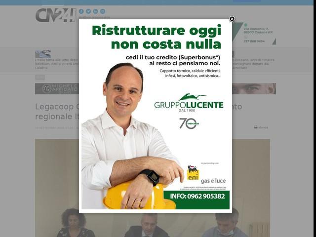 Legacoop Calabria, Liotti responsabile Dipartimento regionale Ittico-Agroalimentare