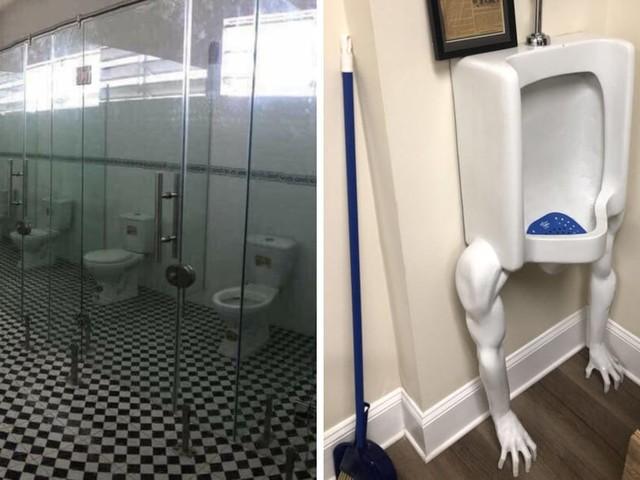 20 foto di divertenti design del bagno