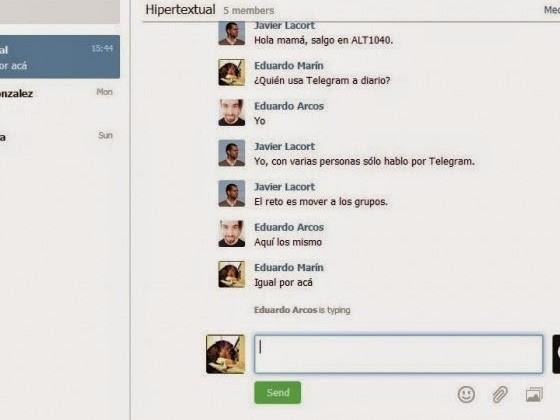 Telegram Web per desktop