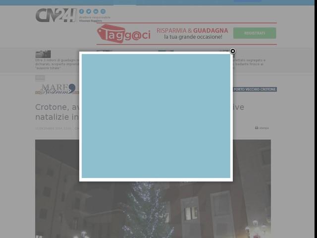 Crotone, avviato protocollo di intesa per le iniziative natalizie in città