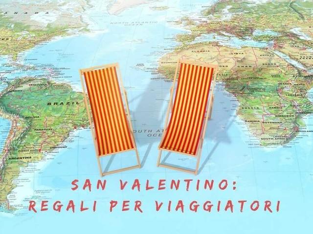 San Valentino: cosa regalare a chi ama viaggiare