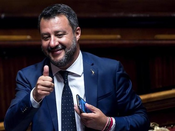 L'altro atto di forza di Matteo Salvini: potrebbe ritirare la proposta di votare la sfiducia il 14