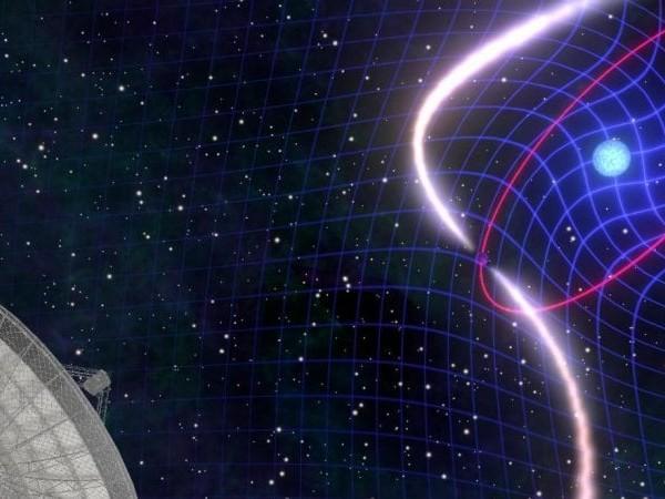 Da una pulsar binaria un'altra conferma alla teoria di Einstein