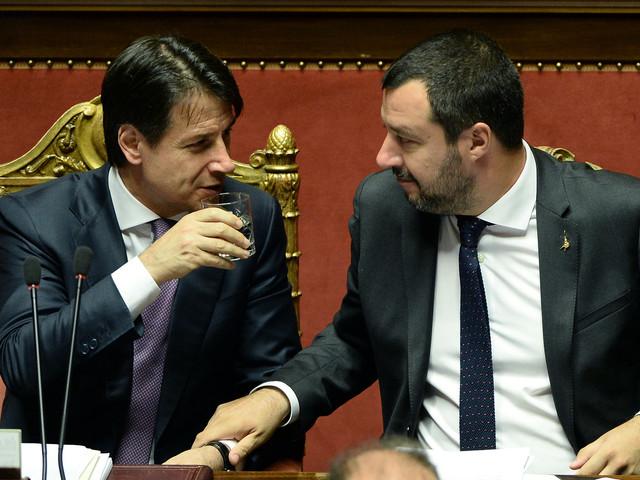 """Salvini contro Conte: """"Ormai ha perso la testa"""""""