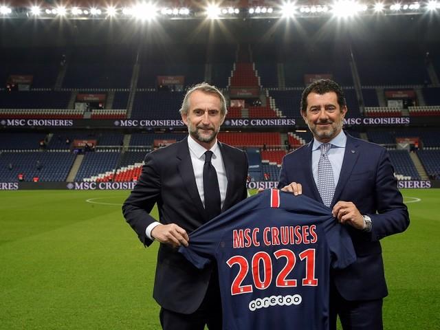 MSC Crociere diventa official sponsor del Paris Saint-Germain