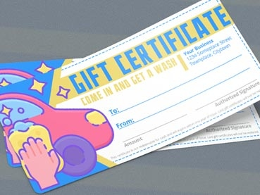 How to Make a Gift Certificate (With or Without Photoshop!)