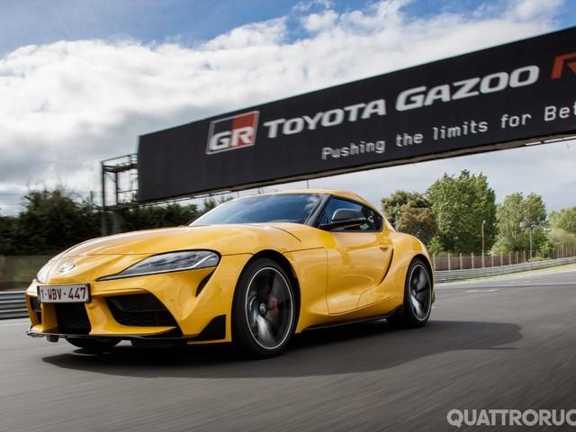 24 Ore di Le Mans - In pista con la Toyota Supra