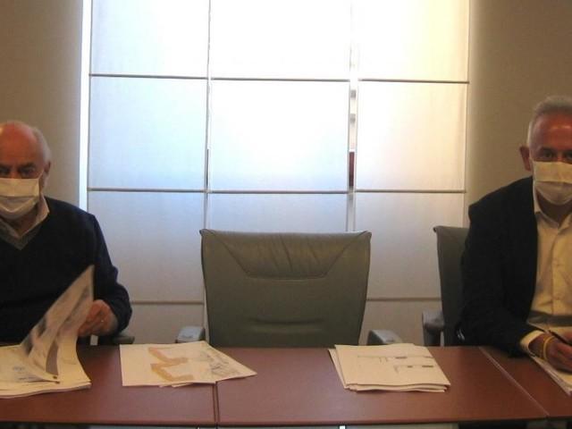 Civitanova, Pettinari e Ciarapica firmano il nuovo preliminare dell'accordo per il liceo scientifico