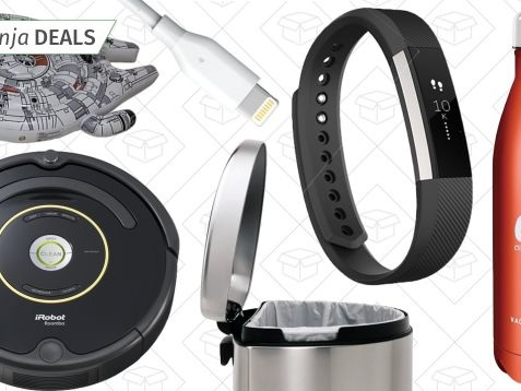 Saturday's Best Deals: Roomba, Fitbit, Simplehuman, and More