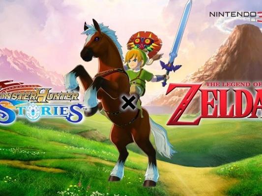 Contenuti a tema The Legend of Zelda all'interno di Monster Hunter Stories, eccoli in video - Notizia - 3DS