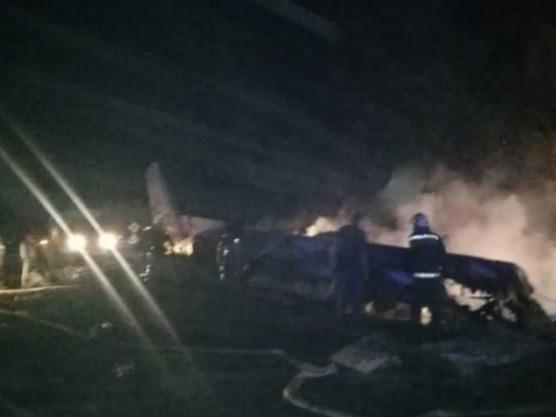 Aereo militare precipita in Ucraina, almeno 22 morti