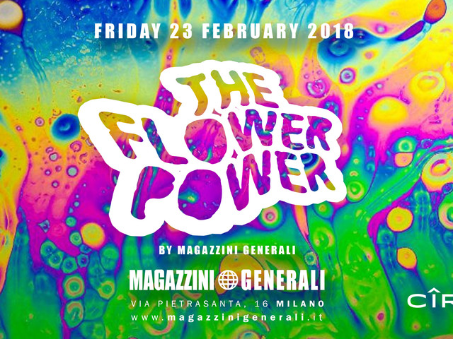 Party Ciroc – Flower Power: venerdì 23 febbraio appuntamento hippie chic ai Magazzini