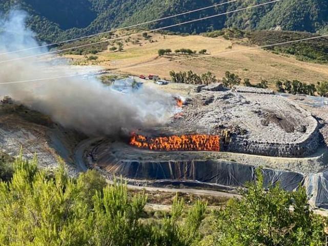 Discariche in fiamme a Siderno e San Giovanni in Fiore. Potenziamento della sorveglianza