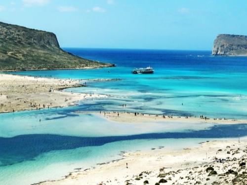 Laguna di Balos, la spiaggia più bella di Creta