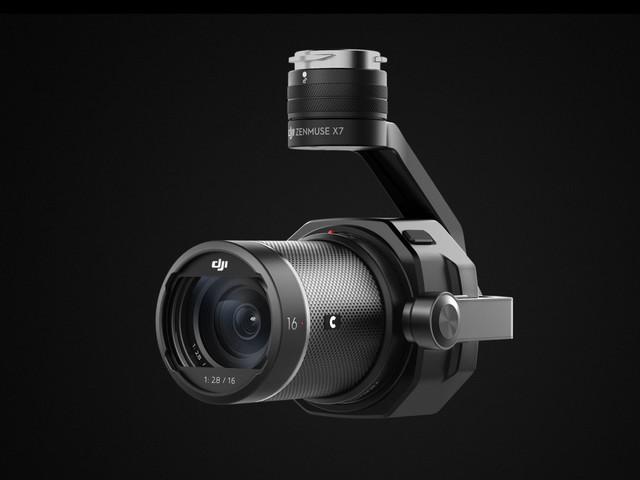 DJI Zenmuse X7, gimbal e videocamera 6K con nuovo sensore Super35