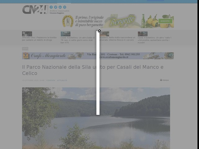 Il Parco Nazionale della Sila unito per Casali del Manco e Celico