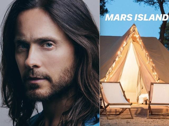 In campeggio con Jared Leto