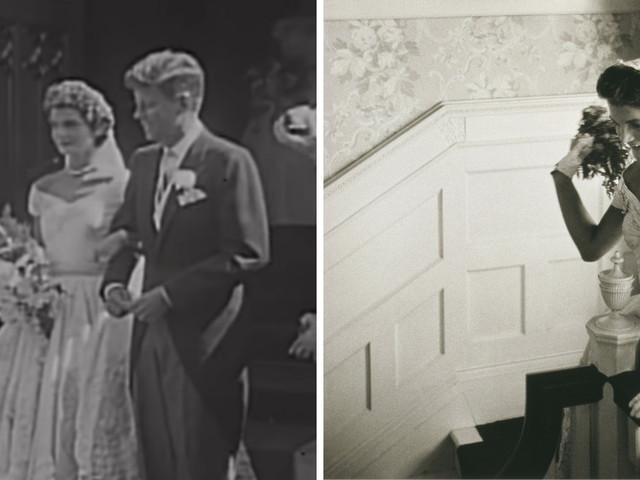 L'abito da sposa di Jackie Kennedy cambiato all'ultimo minuto e a sua insaputa