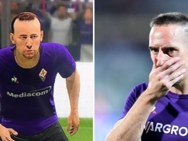 """Franck Ribery e il suo aspetto in FIFA 20: """"ma chi è questo tizio?"""""""