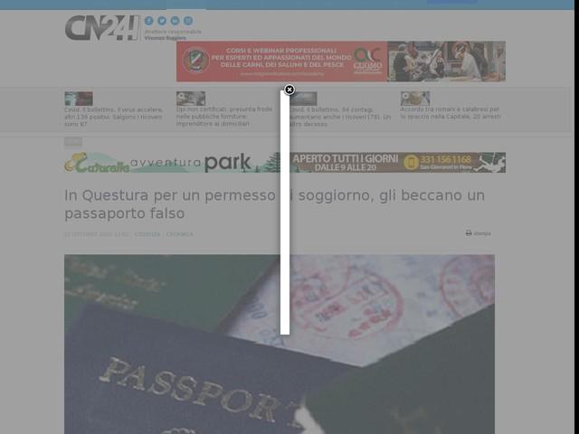 In Questura per un permesso di soggiorno, gli beccano un passaporto falso