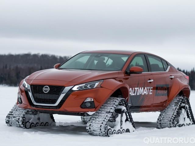 Nissan Altima-te AWD - La berlina mette i cingoli
